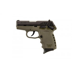 """SCCY CPX-1 9mm 10+1 3.1"""" Pistol in Black/Flat Dark Earth (Carbon) - CPX1CBDE"""