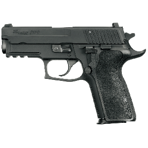 "Sig Sauer P229 Compact Enhanced Elite CA Compliant .40 S&W 10+1 3.9"" Pistol in Black Nitron (SIGLITE Night Sights) - 229R40ESECA"
