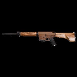 "Windham Weaponry Hunter .308 Winchester/7.62 NATO 5-Round 18"" Semi-Automatic Rifle in Brown/Black - R18FFTWS2308"