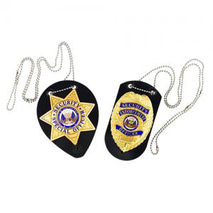 Badge Holder Badge: Star