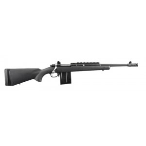 """Ruger Gunsite Scout .308 Winchester 10-Round 16.1"""" Bolt Action Rifle in Matte Black - 6830"""