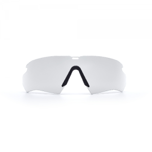 Crossbow Lens Clear - 2.4mm interchangeable lens & nosepiece. ClearZone dual lens coatings maximize scratch resistance on the outside & fog resistance on the inside
