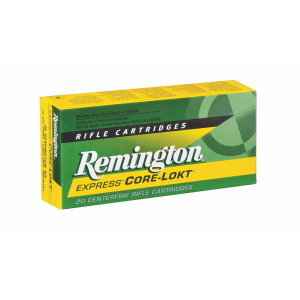 Remington Standard .270 Winchester Pointed Soft Point, 100 Grain (20 Rounds) - R270W1