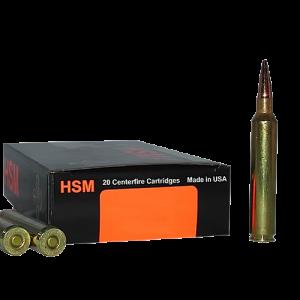 HSM Hunting Shack Trophy Gold Match Target VLD 6mm Remington Multi-Purpose Tactical, 95 Grain (20 Rounds) - BER6BR95TVLD