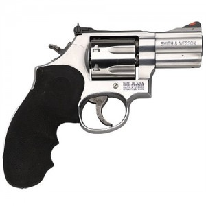 "Smith & Wesson 686 Plus .357 Remington Magnum 7-Shot 2.5"" Revolver in Satin Stainless (Distinguished Combat Magnum) - 164192"