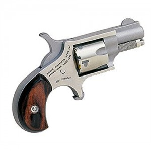 """North American Arms Mini-Revolver .22 Short 5-Shot 1.12"""" Revolver in Stainless - 22S"""