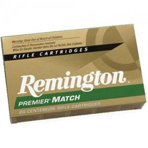 Remington Premier .223 Remington/5.56 NATO Core-Lokt Hollow Point Match, 62 Grain (20 Rounds) - R223R6
