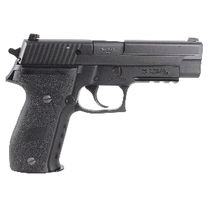 "Sig Sauer P226 Full Size 9mm 10+1 4.4"" Pistol in Black Nitron (SIGLITE Night Sights) - 226R9BSS"