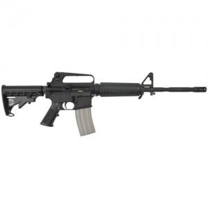 "Bushmaster XM-15 Patrolman's .223 Remington/5.56 NATO 30-Round 16"" Semi-Automatic Rifle in Black - 90216"