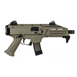 "CZ Scorpion EVO 3 S1 9mm 10+1 7.7"" Pistol in Flat Dark Earth Polymer - 1352"