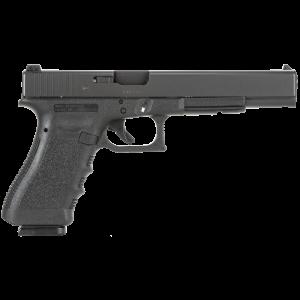 "Glock 17L 9mm 10+1 6"" Pistol in Black (Gen 3) - PI1630101"