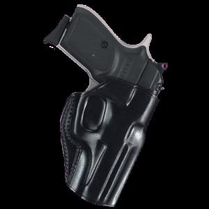 Galco International Stinger Right-Hand Belt Holster for Kel-Tec P32 in Black (W/ Crimson Trace) - SG486B