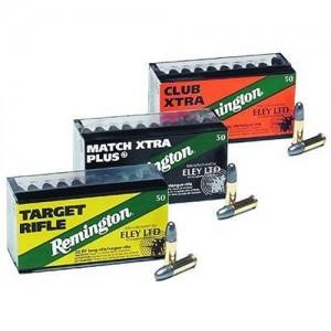 Remington Eley .22 Long Rifle Lead Round Nose, 40 Grain (50 Rounds) - RE22T