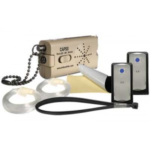 Brite-Strike Trip Line, 2 Apals, Ties Flat Dark Earth Perimeter Security System for Camping, Survival, Security CAPSS