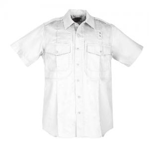 5.11 Tactical PDU Class B Men's Uniform Shirt in White - X-Large