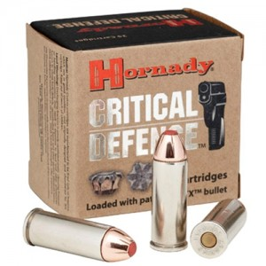 Hornady Critical Defense .45 Long Colt Flex Tip Expanding, 185 Grain (20 Rounds) - 92790