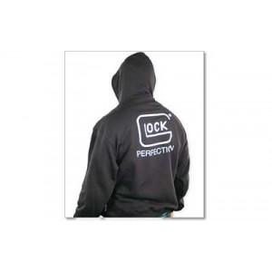 Glock Logo Men's Pullover Hoodie in Black - Medium