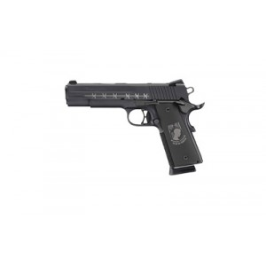"Sig Sauer 1911 Full Size POW MIA .45 ACP 8+1 5"" 1911 in Stainless Steel (Black Hogue Custom POW Grip) - 191145POWMIA"