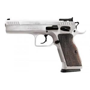 """EAA Witness 10mm 15+1 4.5"""" Pistol in Chrome - 600615"""