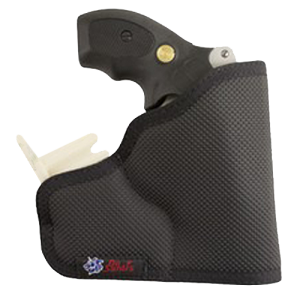 """Desantis Gunhide Nemesis Inside The Pocket Ambidextrous-Hand Pocket  Holster for Smith & Wesson Bodyguard .38/Ruger LCR in Black (2.25"""") - M33BJN3ZO"""