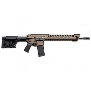 "Patriot Ordnance Factory War Hog .223 Remington/5.56 NATO 30-Round 16.5"" Semi-Automatic Rifle in Cerakote Burnt Bronze - 703"