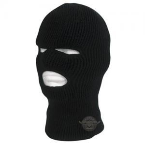 Black Acrylic Face Mask 100% Acrylic Size: OSFM