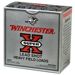 """Winchester Super-X Game & Field .12 Gauge (2.75"""") 6 Shot Lead (25-Rounds) - XU126"""