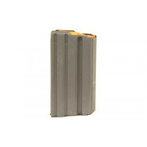 Ammunition Storage Components Magazine, 223 Rem, Fits Ar-15, 20rd, Stainless, Black 223-20rd-ss