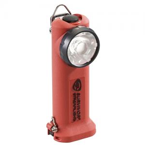 SURVIVOR® ATEX and InMetro Flashlights Color: Orange Option: 12V DC Fast Charge (ATEX) Low Profile