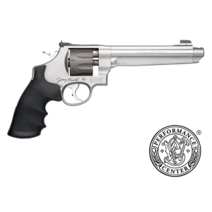"""Smith & Wesson 929 9mm 8-Shot 6.5"""" Revolver in Two Tone - Stainless/Titanium (Performance Center) - 170341"""