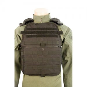 5ive Star Gear Plate Carrier Vest in Nylon Black - One Size Fits Most