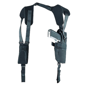 """Uncle Mike's Sidekick Right-Hand Shoulder Holster for Large Autos in Black (3.75"""" - 4.5"""") - 83151"""