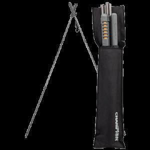 Champion Targets 40578 Folding Shooting Sticks W/ Belt Pouch