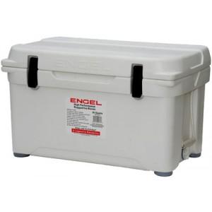 Engel USA DeepBlue Cooler 35 Quart Storage Cooler 8-10 Day Cooling Time White ENG35