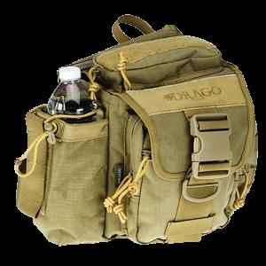 Drago Gear Hiker Bag Shoulder Bag in Tan 1000D Nylon - 15301TN