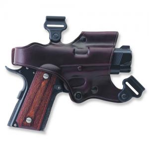J1H JACKASS HOLSTER COMPONENT Gun FIt: COLT - 3 1/2  1911 Color: HAVANA Hand: Left Handed - J213H