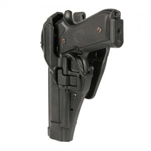 Blackhawk Level 3 Serpa Right-Hand Belt Holster for Heckler & Koch USP in Plain Black - 44H114PL-R