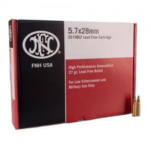 FN Herstal Lead Free 5.7X28 Full Metal Jacket, 31 Grain (500 Rounds) - SS190