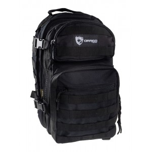 Drago Gear Scout Backpack Waterproof Backpack in Black 600D Polyester - 14305BL
