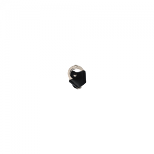 Boston Leather Handcuff Quick Release Case in Black Basket Weave - 55213