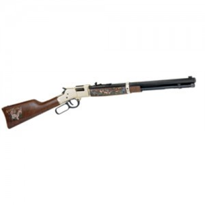 """Henry Repeating Arms Big Boy Wildlife Edition II .44 Remington Magnum 10-Round 20"""" Lever Action Rifle in Black - H006WL2"""