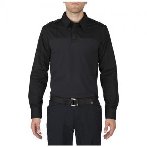 Long Sleeve Taclite PDU Shirt Color: Midnight Navy Length: Regular Size: X-Large