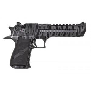 "Magnum Research MK19 .50 AE 7+1 6"" Pistol in Black w/ Tiger Stripes Steel - DE50BTS"
