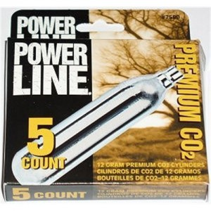 Daisy 5 Count 12 Gram CO2 Cylinders 7580