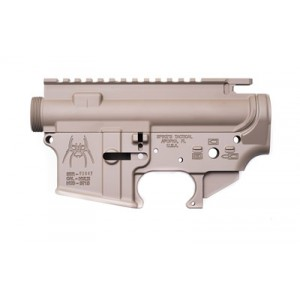 Spike's Tactical Upper/lower Receiver Set, Semi-automatic, 223 Rem/556nato, Flat Dark Earth Finish, Mil-spec Sts1512