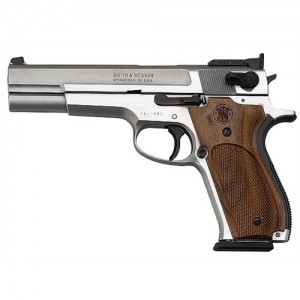 """Smith & Wesson 952 9mm 9+1 5"""" Pistol in Satin Stainless - 170244"""