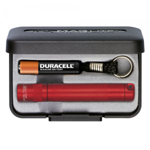 """MagLite Solitaire Keychain Flashlight in Red (3.1875"""") - SJ3A032"""