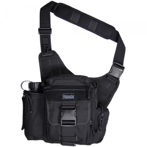 Maxpedition Fatboy Waterproof Sling Backpack in Black 1050D Nylon - 0412B