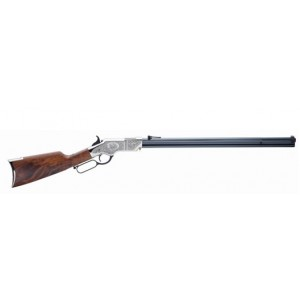 "Henry Repeating Arms Deluxe Engraved .44-40 Winchester 13-Round 24.5"" Lever Action Rifle in Steel - H011SD"