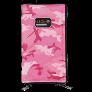 "G*Outdoors 1265PSPK Pistol Sleeve Large 6.75""x12""x5"" Lockable Pink"